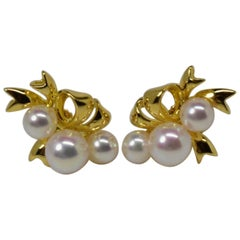 Mikimoto Pearl Earrings