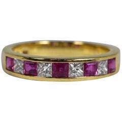 Tiffany & Co. Ruby and Diamond Ring