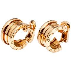 Bulgari Bvlgari B.Zero1 Earrings for Pierced Ears 18 Karat Yellow Gold OR851273