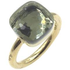 Pomellato Nudo Maxi Prasiolite 18 Karat Yellow Gold Ring