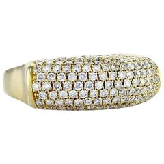 Pave Multi Row Diamond Band Ring