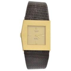 Rolex Yellow Gold Cellini Midas mechanical Wristwatch Ref 5072, circa 1991