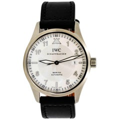 IWC Schaffhausen Sterling Silver Pilot Mark XVI Automatic Wristwatch