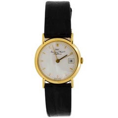 IWC Schaffhausen Ladies yellow gold quartz Wristwatch