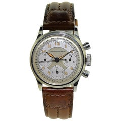 Girard Perregaux Stainless Steel High Grade Drs Chronograph Manual Watch