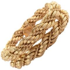 Tiffany & Co. Double Rope Gold Bracelet