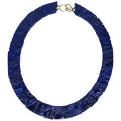 """Nefertiti"" Lapis Lazuli Necklace"