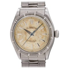 Rolex Stainless Steel Oyster Perpetual self winding Wristwatch, circa 1954