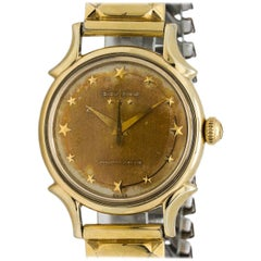 Benrus Gold-Filled Star Dial Automatic Wristwatch, circa 1959