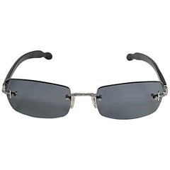 Luxuriator by Franco 18 Karat and Diamond Sunglasses