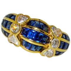 Van Cleef & Arpels Sapphire and Diamond Ring