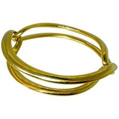 18 Karat Gucci Bangle Bracelet