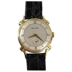 Bulova Yellow Gold Wristwatch, 1950s