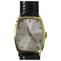 Sarcar Yellow Gold Wristwatch, 1960s