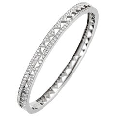 Akillis Capture Me Bracelet 18 Karat White Gold White Diamonds