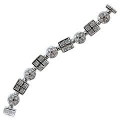 2.50 Carat Diamond Gold Tennis Bracelet