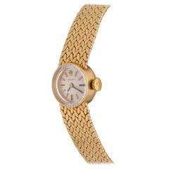 Rolex Ladies Yellow Gold Vintage Manual Wristwatch Ref 9656
