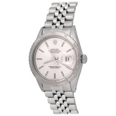 Rolex Stainless Steel Datejust Automatic Wristwatch Ref 16250