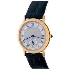 Breguet Classique Yellow Gold Manual Wristwatch