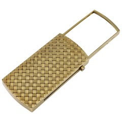 Gold Purse Magnifying Glass