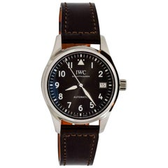 International Watch Company Stainless Steel Pilot Wristwatch