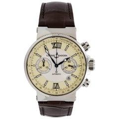 Ulysse Nardin Stainless Steel Maxi Marine Automatic Wristwatch