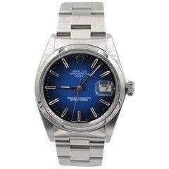 Rolex Stainless Steel Date automatic Wristwatch Ref 1570, circa 1974