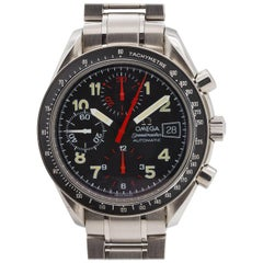 Omega stainless steel Speedmaster Sport Date Automatic Wristwatch, circa 1996