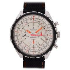 Breitling stainless steel Chronomat manual wind wristwatch Ref 0818, circa 1970s