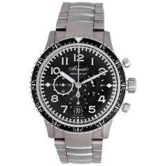 Breguet Transatlantique Type XXI Flyback Men's Titanium Chronograph Watch 3810TI