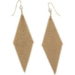 Elsa Peretti Tiffany & Co. Handkerchief Earrings
