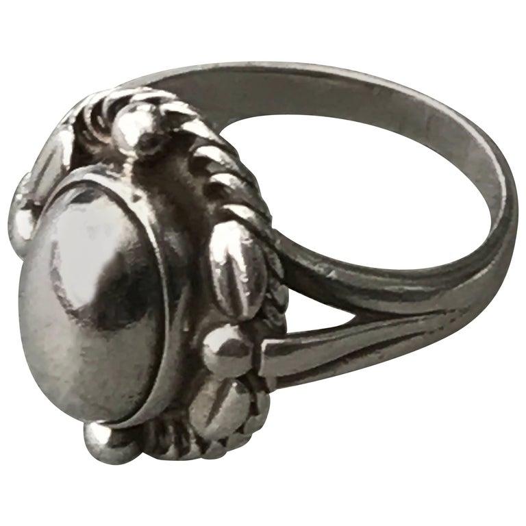 Georg Jensen Sterling Silver Ring, No. 1A