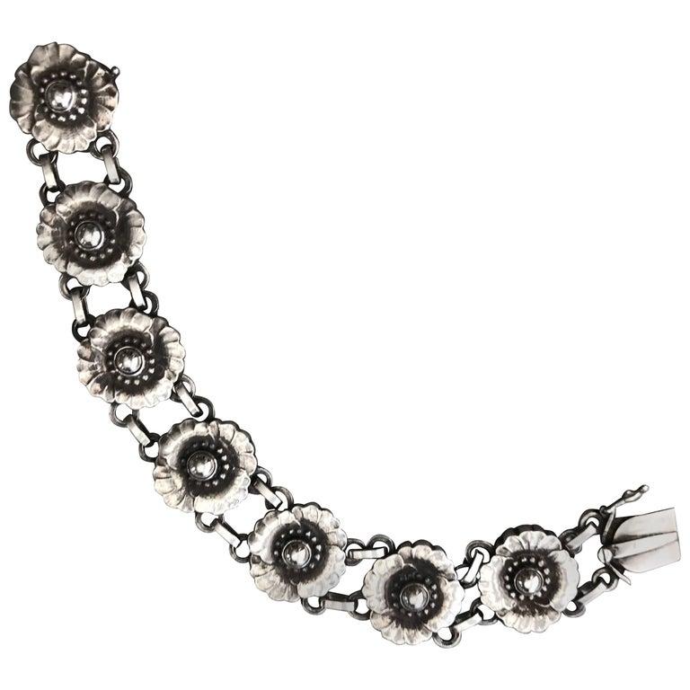 Georg Jensen Sterling Silver Bracelet, No. 36