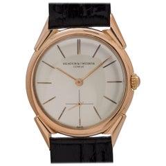 Vacheron & Constantin rose Gold Dress Model manual wind Wristwatch, circa 1954