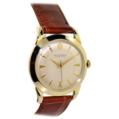 Wittnauer Yellow Gold Filled Original Dial Art Deco Automatic Watch