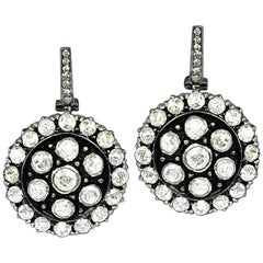 Victorian Style Diamond Dangling Earring