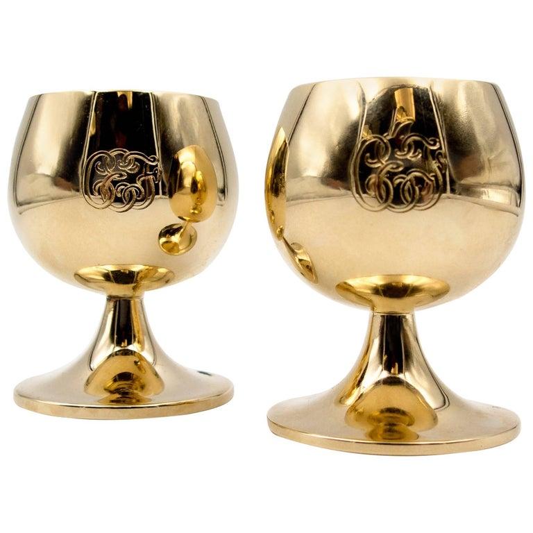 Tiffany & Co Gold Celebration Cups