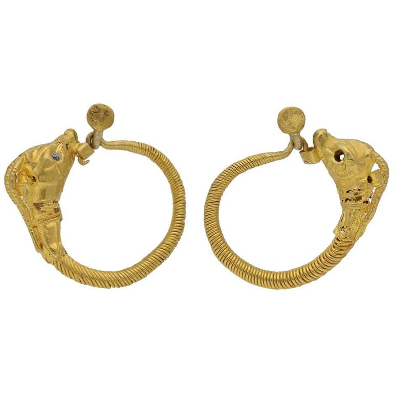 Ancient Greek Earrings 4th Century Bc For