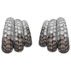 Emilio Jewelry 7.46 Carat Unique Diamond Earrings