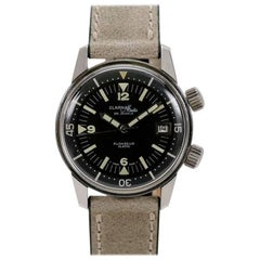 Clarna-Matic Stainless Steel Plongeur Automatic Wristwatch, circa 1960s