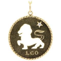 Cartier Vintage Leo Zodiac Charm