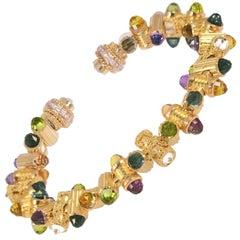LALAoUNIS One of a Kind Attalos Bracelet in 18 Karat Gold