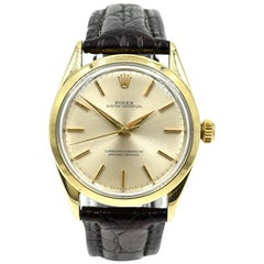 Rolex Yellow Gold Capped No-Date automatic wristwatch Ref 1024, circa 1969