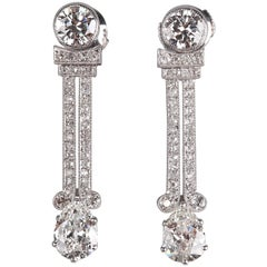 Art Deco Diamonds Earrings