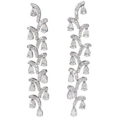 Diamond Cascade Dangle Earring