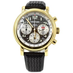 Chopard Yellow Gold Mille Miglia Chronograph Ltd Ed automatic Wristwatch