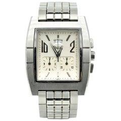 Piaget Stainless Steel Upstream Chronograph quartz Wristwatch Ref 27150