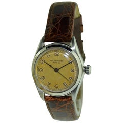 Rolex Stainless Steel Oyster Original Manual Wrist Watch, 1937