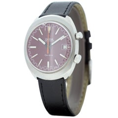 Omega Chronostop Mechanical Hand Wind Stainless Steel Gent's Watch, 1960s