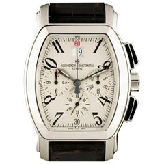 Vacheron Constantin Royal Eagle Chrono Steel Silver Dial 49145 Automatic Watch
